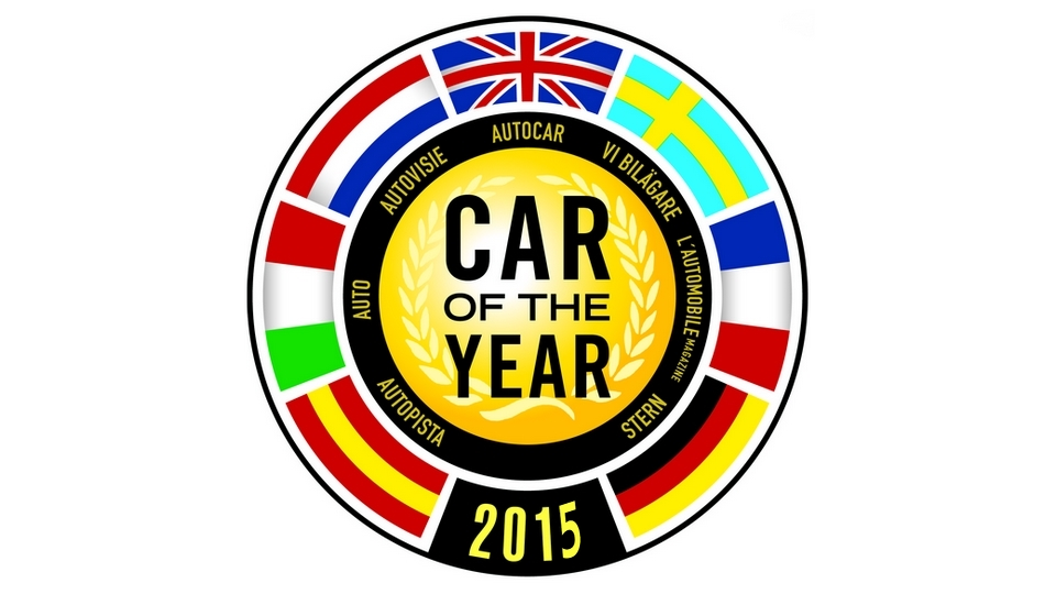 Logo Voiture de l'année 2015