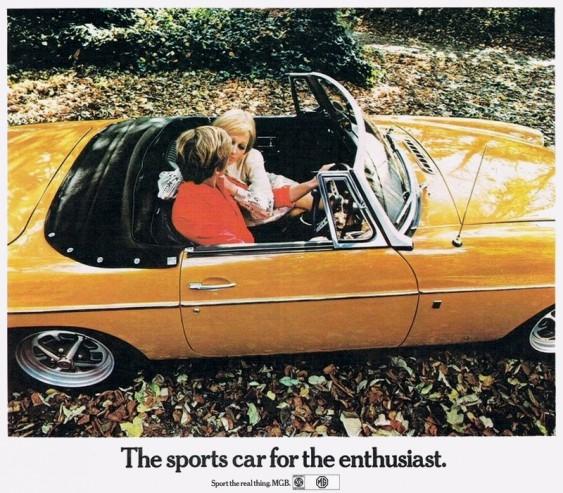 MGB roadster 1970