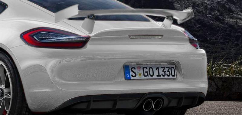 Porsche Cayman GT4 Ar -détail- par Khalil B