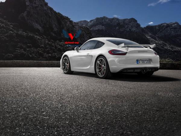 Porsche Cayman GT4 Ar par Khalil B. pour Blogautomobile.fr
