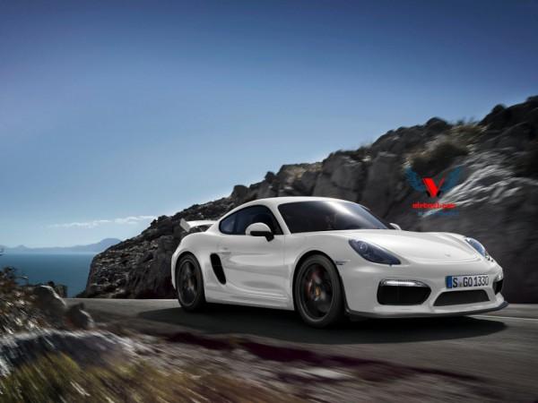 Porsche Cayman GT4 Av par Khalil B. pour Blogautomobile.fr