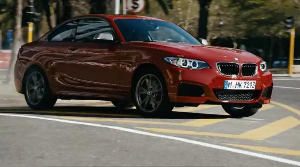 drift en BMW M235i
