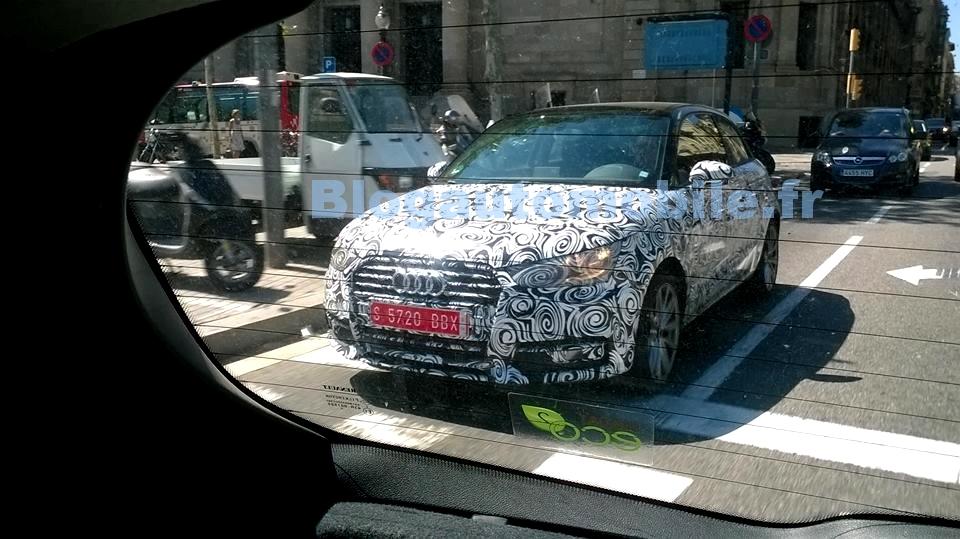Audi A1 par JB Passieux pour Blogautomobile