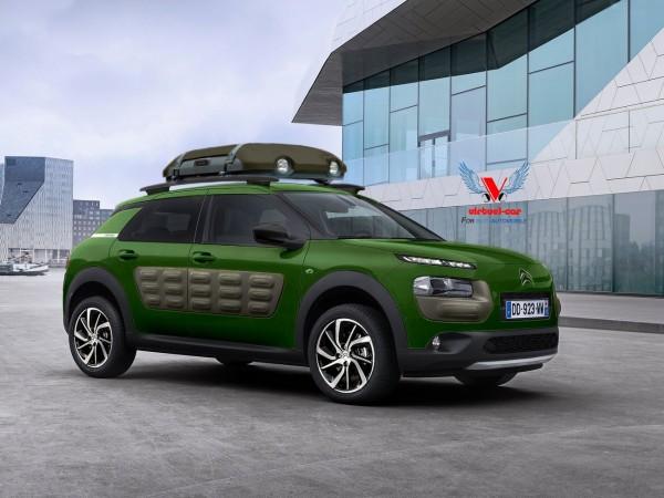 Citroën C4 Cactus Cross Aventure par Khalil B pour Blogautomobile.1
