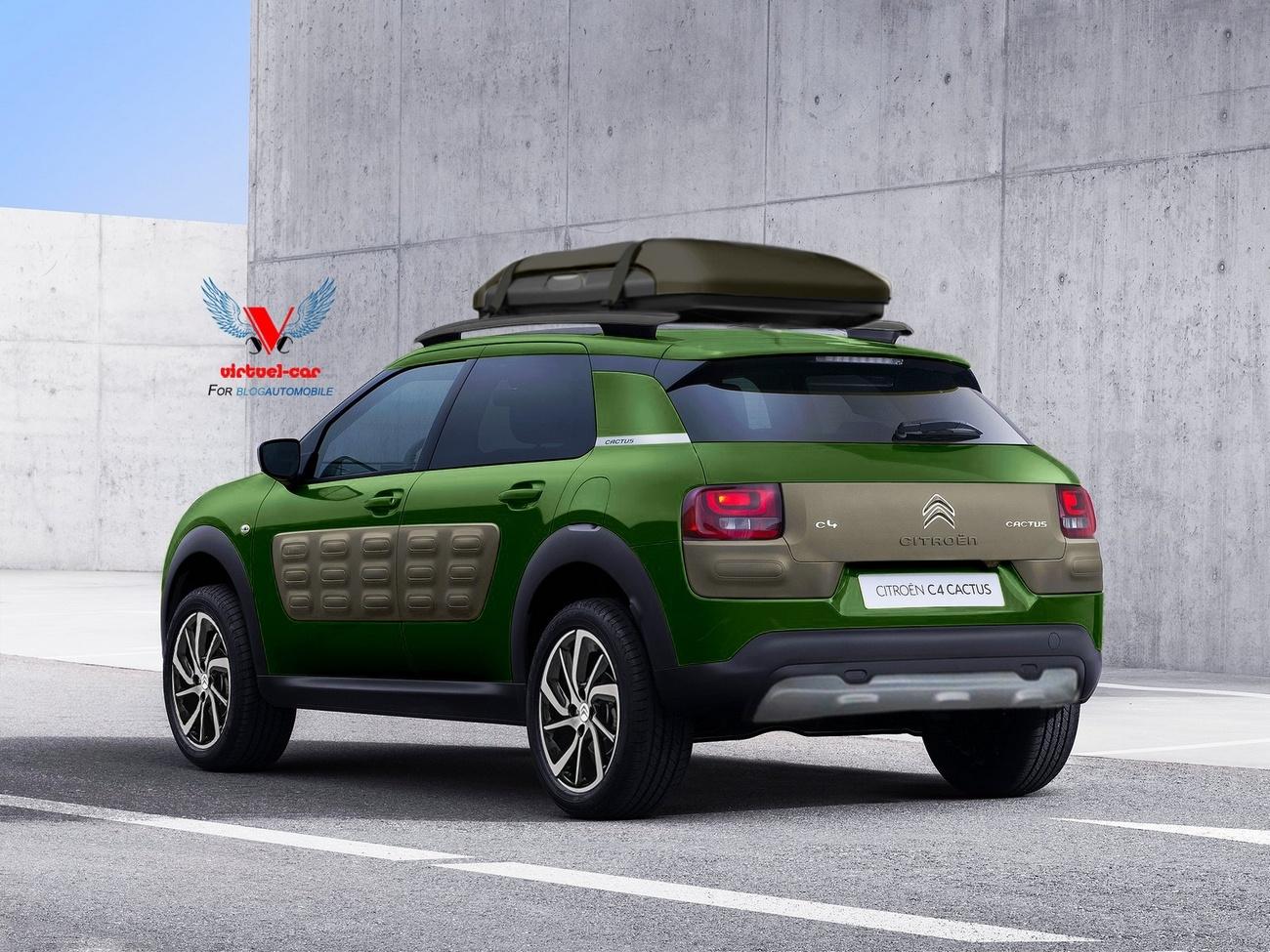 citro n c4 cactus cross aventure blog automobile. Black Bedroom Furniture Sets. Home Design Ideas