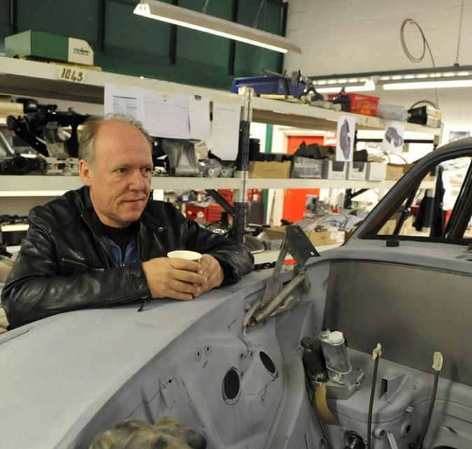 Ian Callum revisite la Jaguar MK2