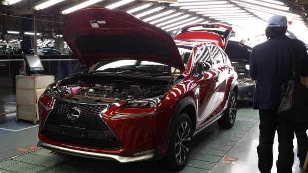 Lexus NX debut production.1