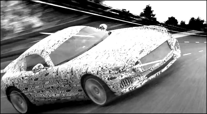 Mercedes Benz AMG GT Teaser
