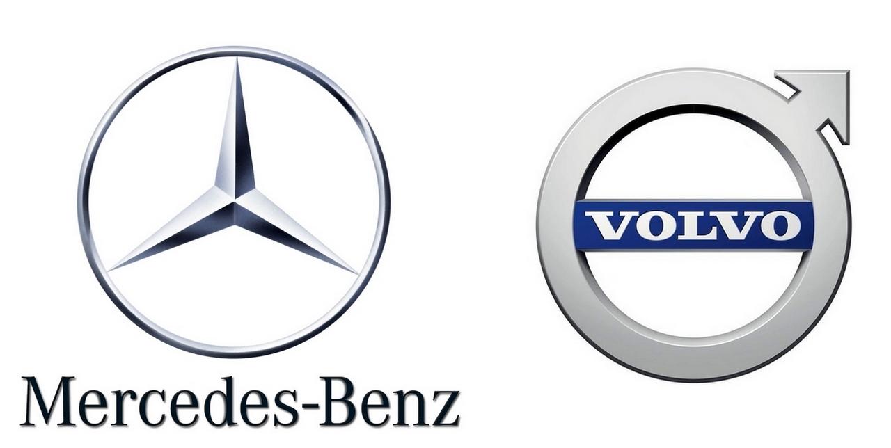 Mercedes Benz et Volvo changent leurs appellations