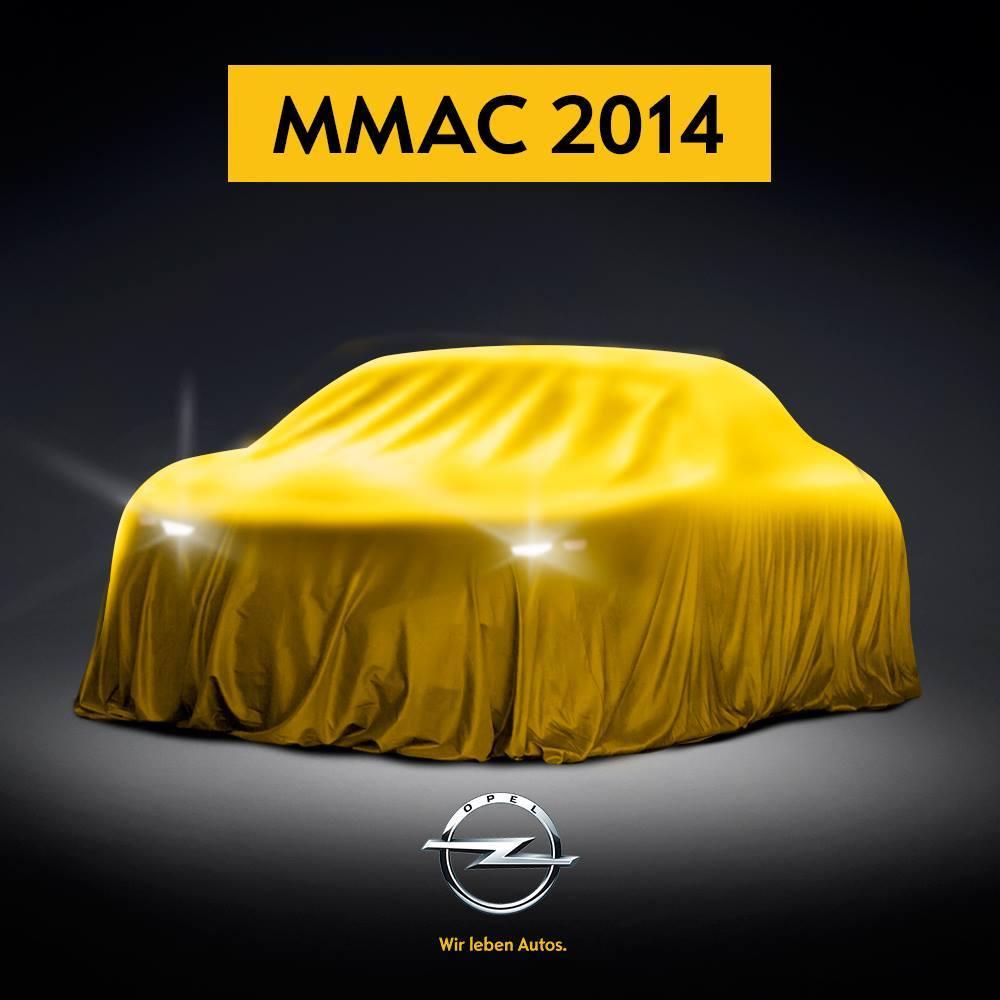 Opel tease pour le salon de Moscou