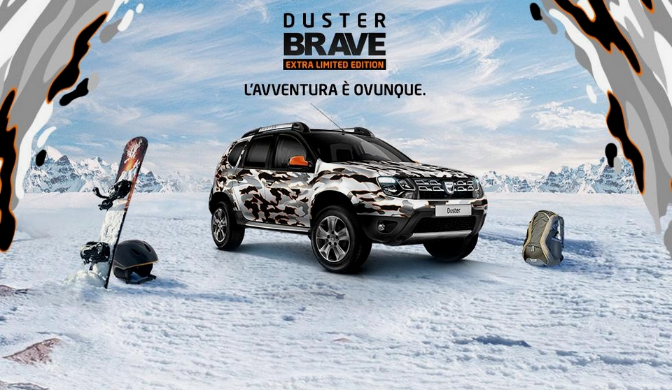 dacia duster brave extra limited edition