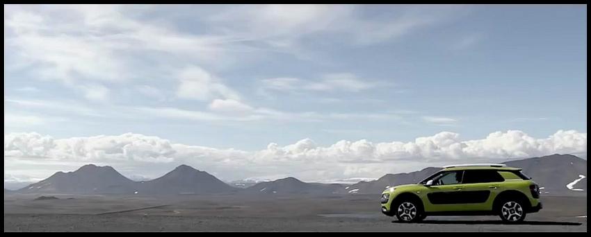 Citroën C4 Cactus en Islande