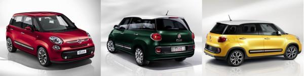 Fiat - la gamme 500L