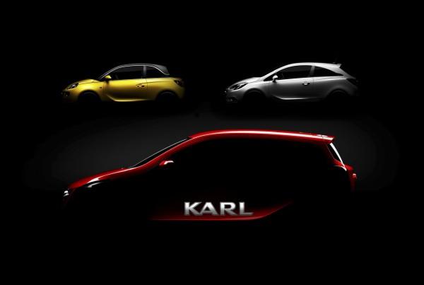 Opel Karl teaser