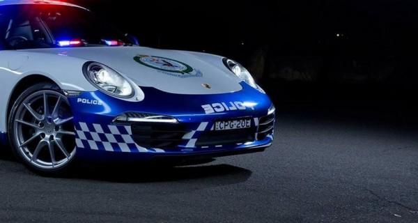 Porsche 911 Carrera Police Australie.1