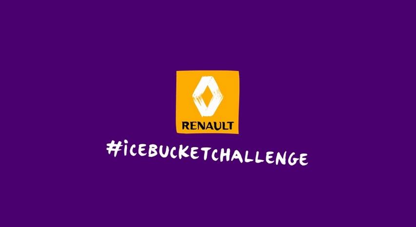 Renault Twingo 2015 - Ice Bucket Challenge