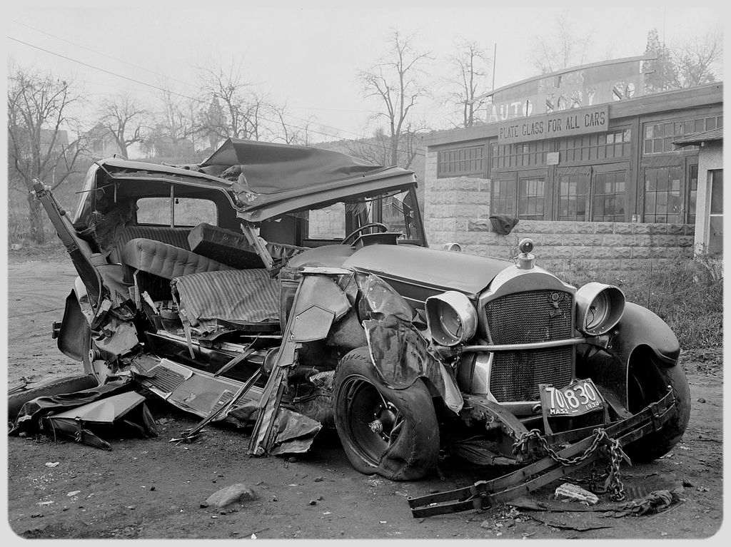 accident-voiture annees 30