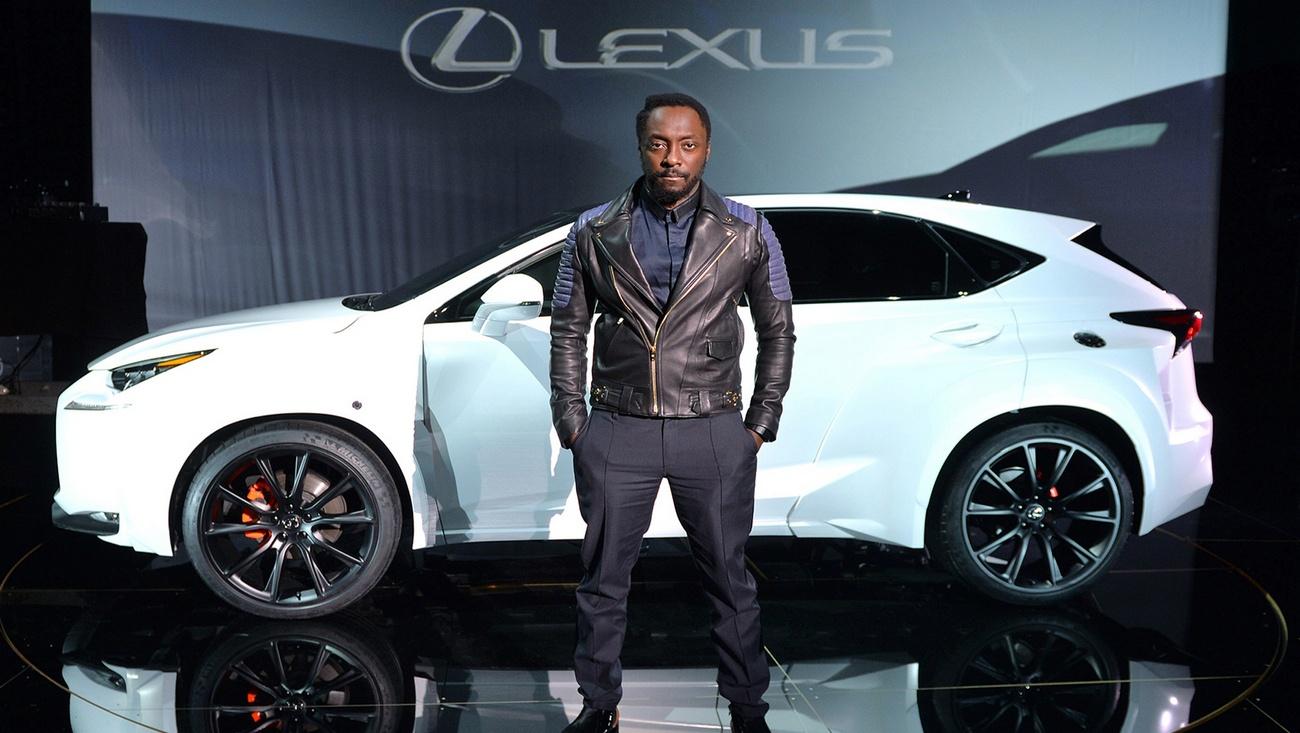 lexus nx will i am