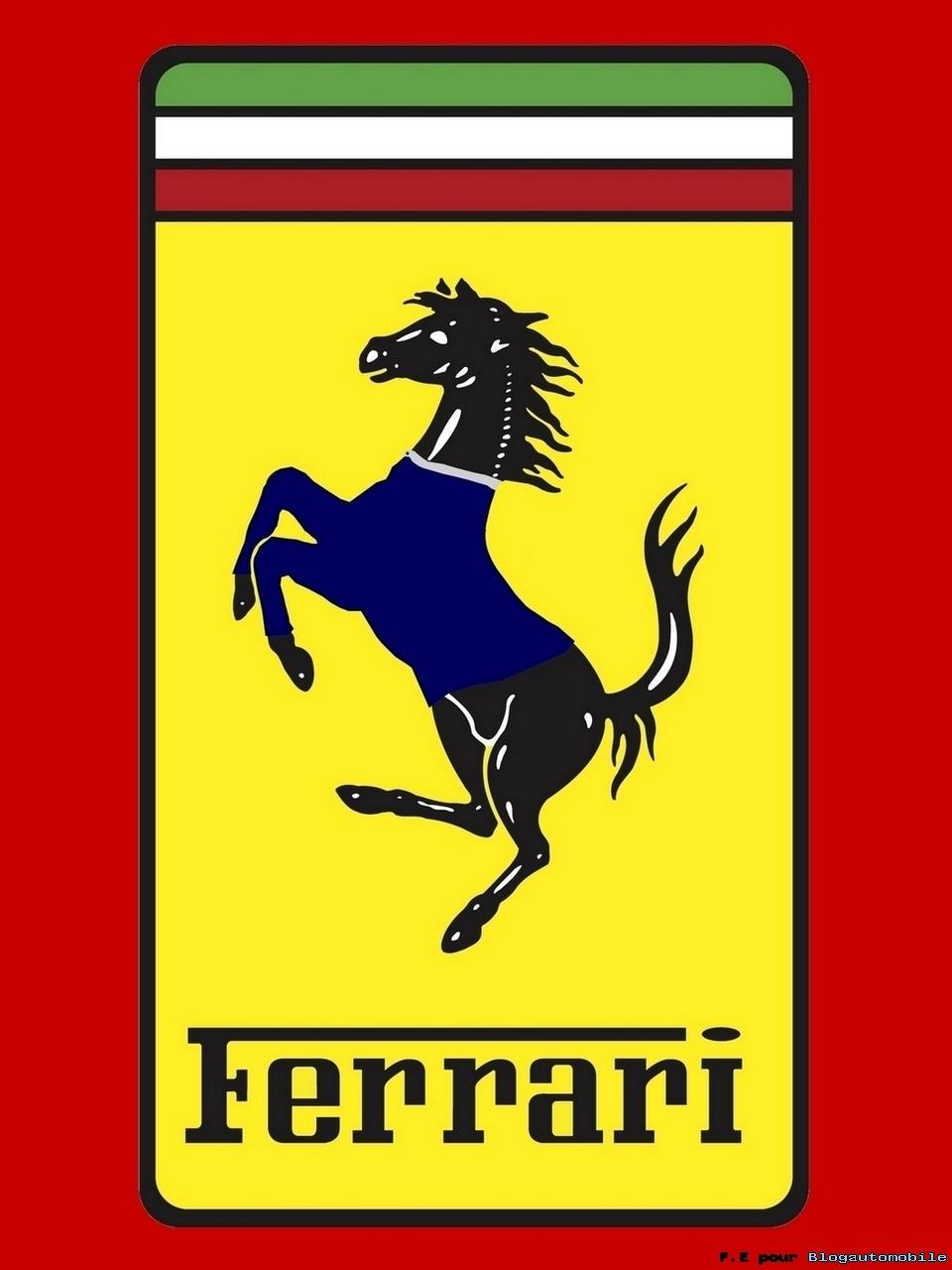 nouveau logo Ferrari by Sergio Marchionne