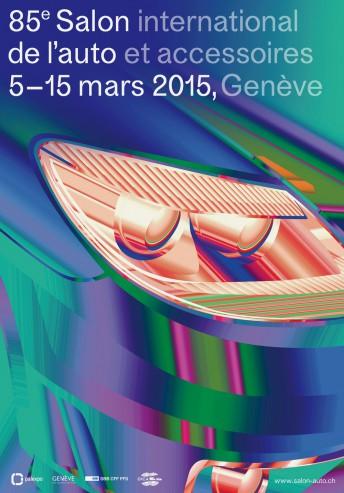 salon de Genève 2015 - l'affiche