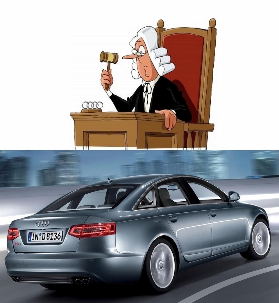 un propriétaire d'Audi S6 traine le constructeur au tribunal