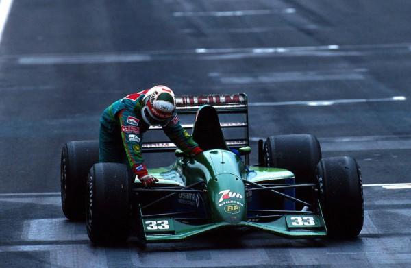 Andrea-de-Cesaris chez Jordan