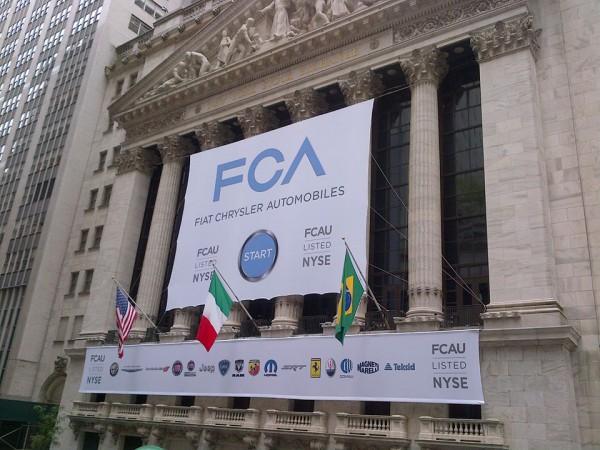 Fiat entre à Wall Street