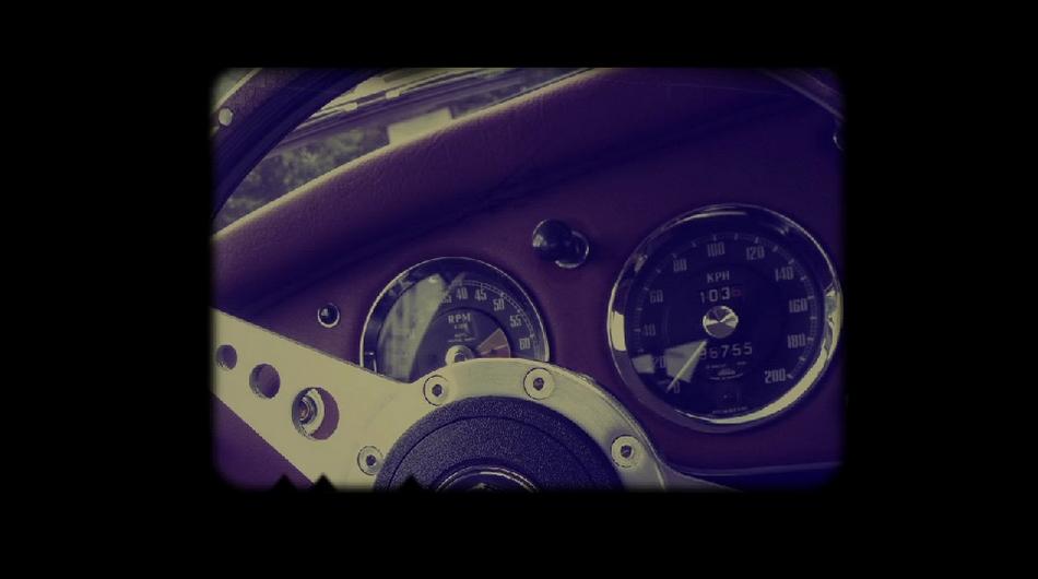 MGA Cafe racer