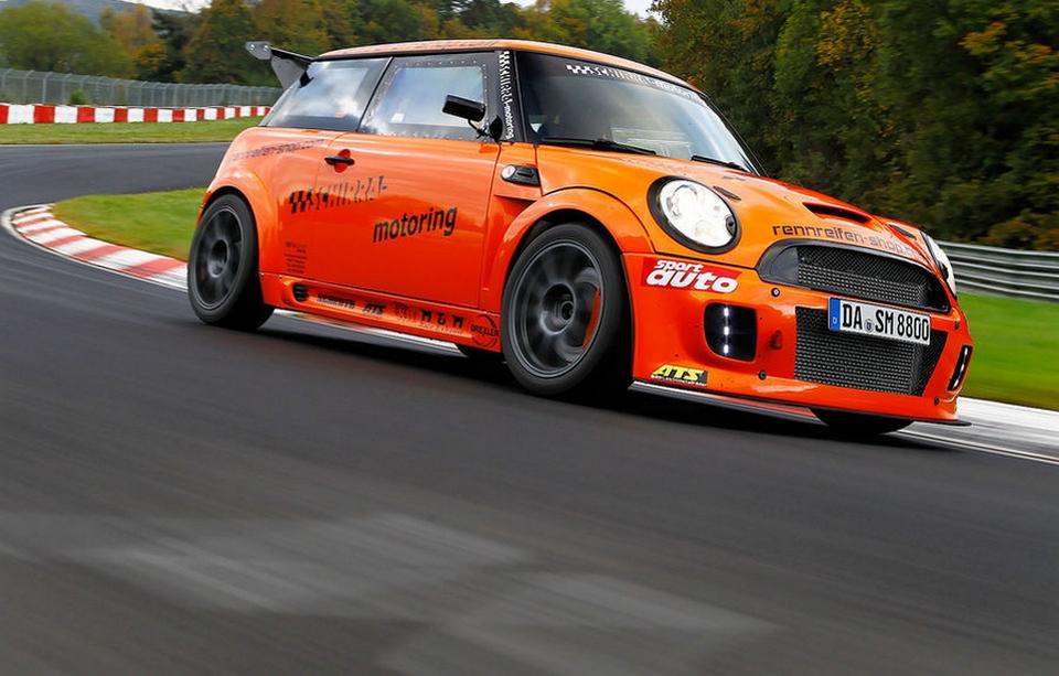 Mini JCW GTS du Schirra Motor -record sur le Ring  10-2014