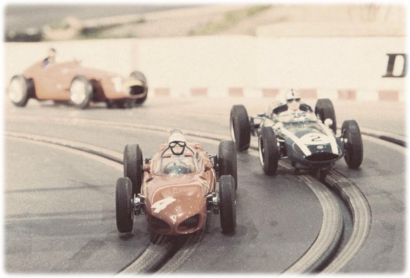Neiman Marcus slotcar raceway