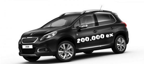 Peugeot 2008 200.000 ex