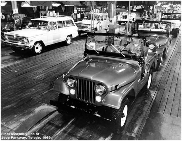 usine de Toledo en 1969