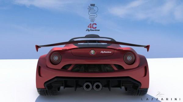 Alfa Romeo 4C Definitiva par LAZZARINI DESIGN.8
