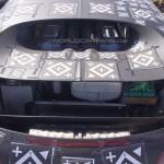 Bugatti Chiron mulet