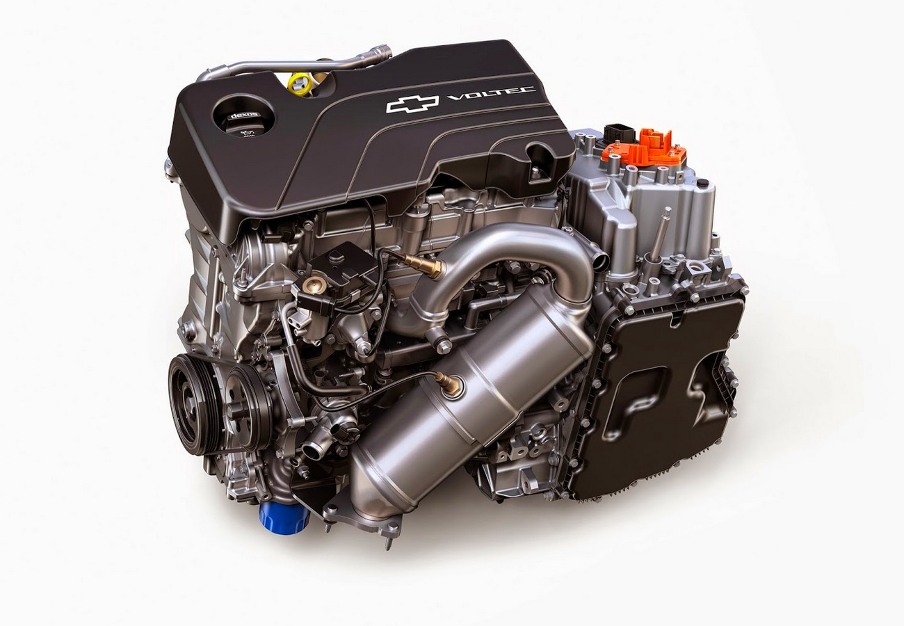 Chevrolet Volt 2016 - moteur Voltec avec bloc électrique et Range Extender