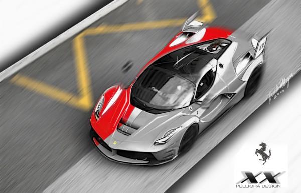 Ferrari LaFerrariXX par Daniele Pelligra.2