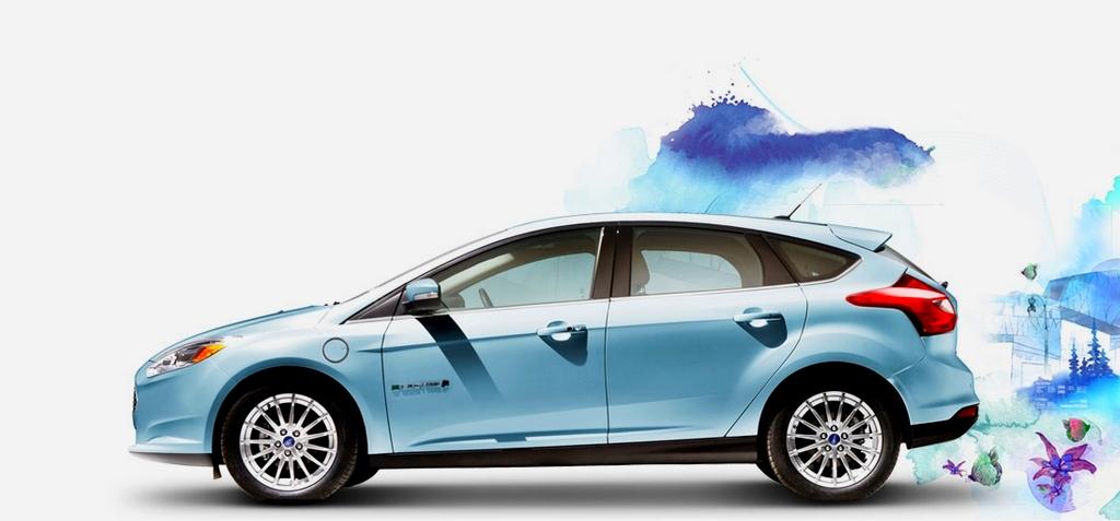 Ford Focus EV -10 km d'autonomie en plus