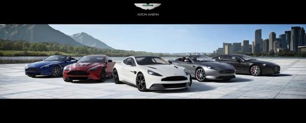 La gamme Aston Martin aux USA