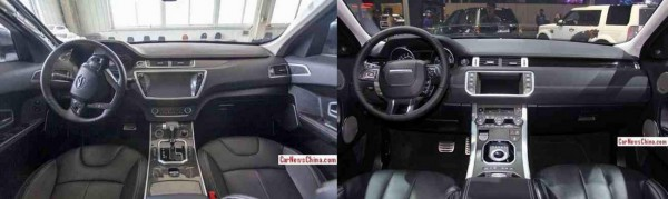 Landwind X7 versus Range Rover Evoque TDB