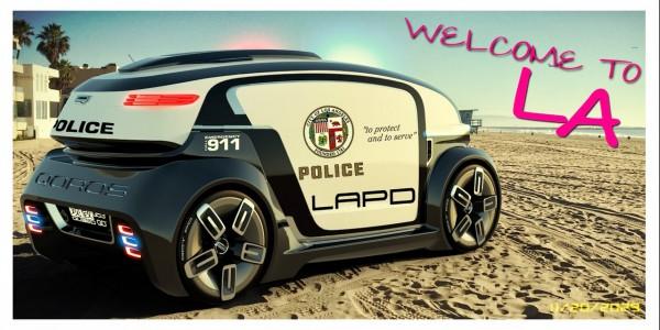 Qoros Qloud Qubed LAPD
