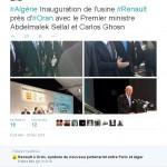 Renault Oran inauguration