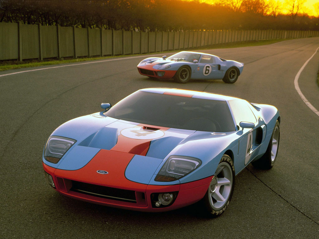 ford gt40 1966 et ford gt 2003 en livre gulf racingjpg - 1966 Ford Gt40 Gulf
