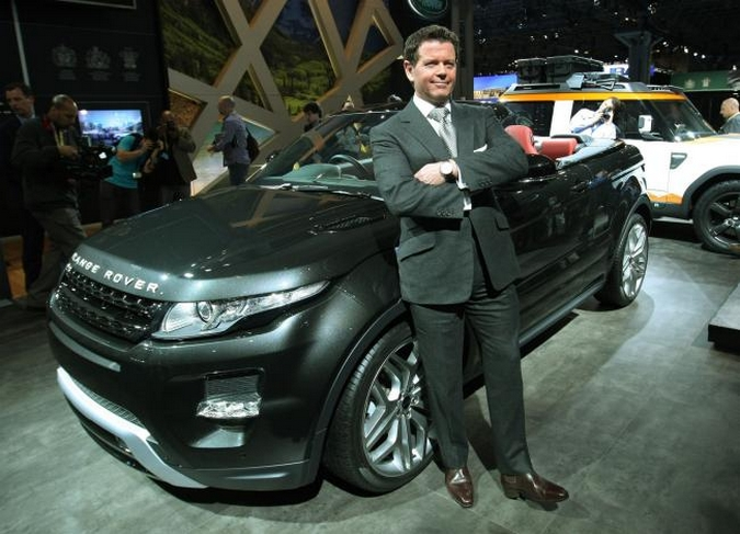Gerry Mcgovern et Range Rover Evoque