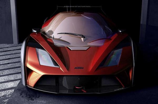 KTM X-Bow GT4 2015 teaser