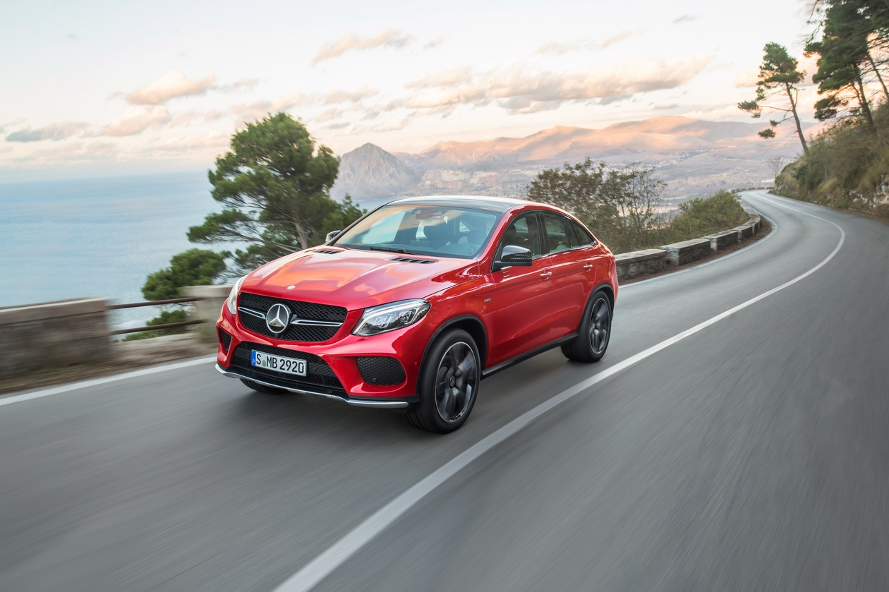 Mercedes Benz GLE Coupé 2015