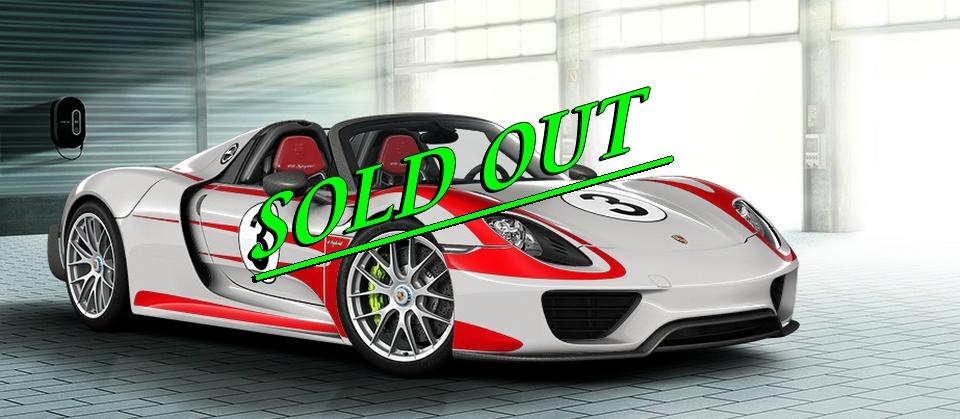 Porsche - toutes les 918 Spyder sont vendues