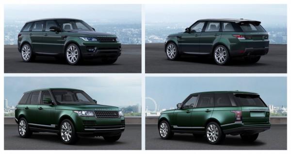 Les Range Rover et Range Rover Sport passent au 4 cylindres