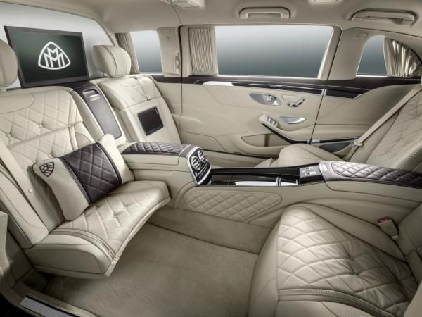 Mercedes-Maybach Pullman 600 - 2 - Photo des sièges arrières