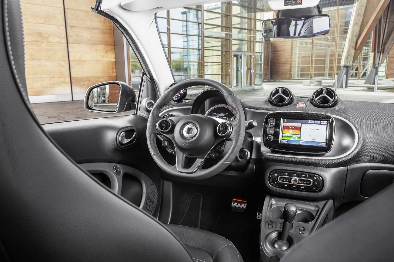 Intérieur Smart Fortwo Cabrio jaune