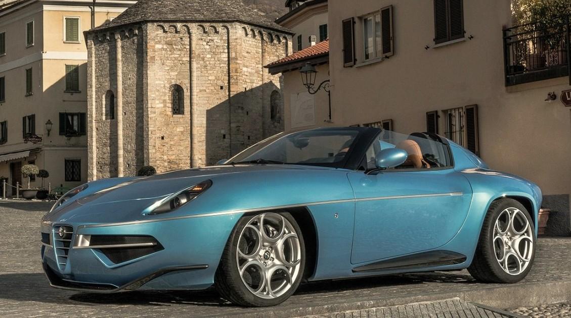 Touring Superleggera Disco Volante Spyder - 01
